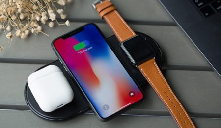 Можно ли зарядкой от Apple Watch заряжать iPhone X, 8 или 8 Plus?
