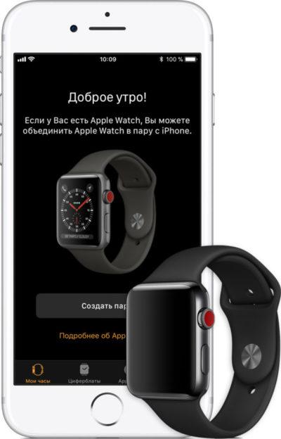 Часы apple watch могут работать без iphone