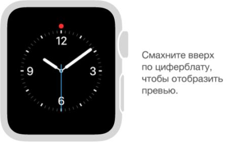 Как упорядочить превью на Apple Watch?