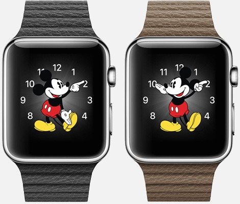 Почему Микки и Мини Маус могут не говорит время на Apple Watch?