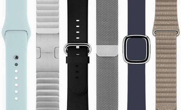 Какая стоимость ремешков для Apple Watch?