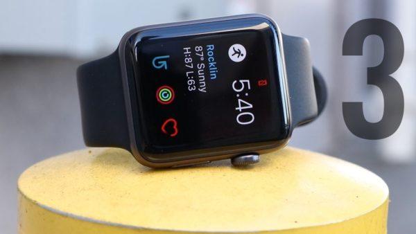 Сколько держит аккумуляторApple Watch Series 3?