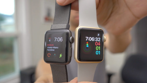 Сравнение часов Apple Watch 1 и 3 поколения