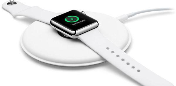 Индикатор зарядки на дисплее Apple Watch
