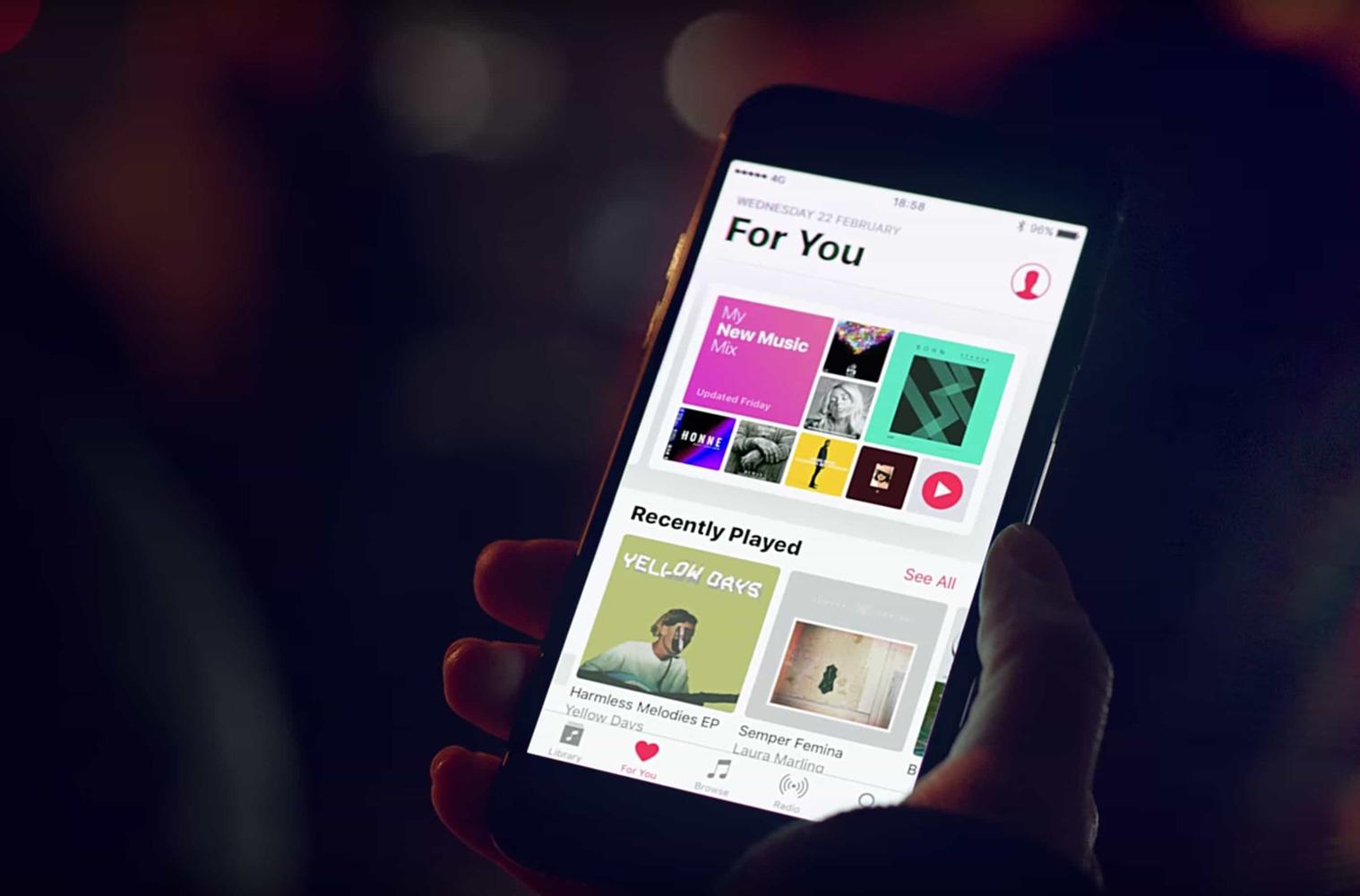 Перенос музыки из ВКонтакте в Apple Music