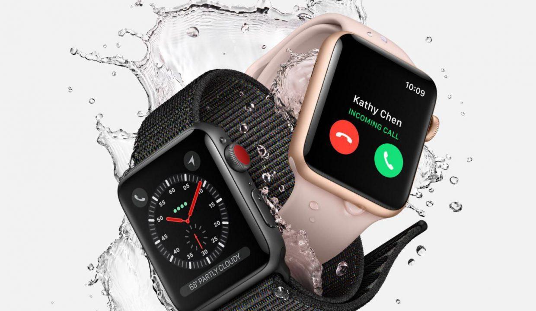 подключение Apple Watch Series 3 к беспроводной сети