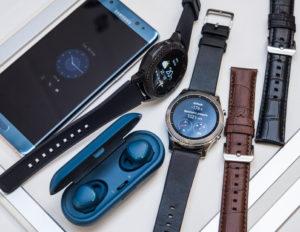 Ремешки к смарт-часам от Samsung