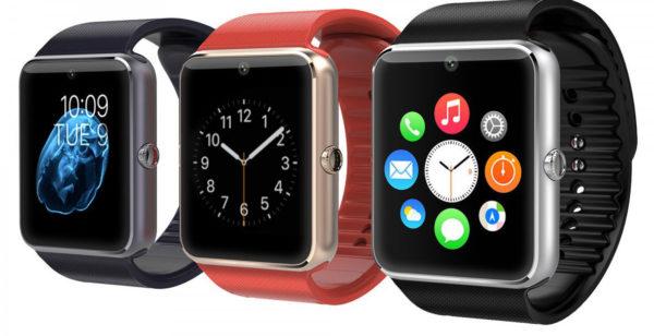 Цвета корпуса и ремешков часов Smart Watch GT08
