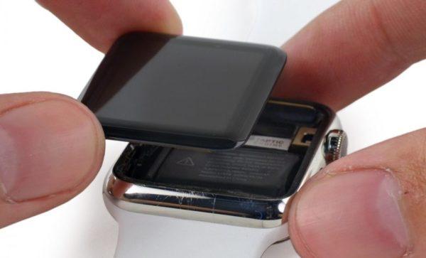 Сколько стоит замена экрана в Apple Watch?