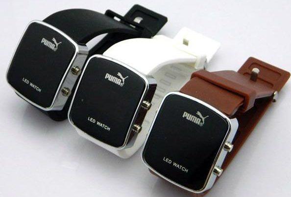 Вариант расцветок Puma Led Watch