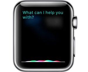 Вызов Siri с помощью Digital Crown
