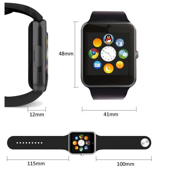 Габариты Sony Smart Watch