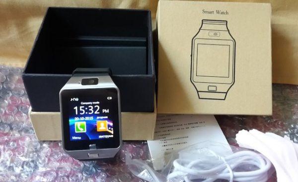 Комплектация часов Smart Watch DZ09