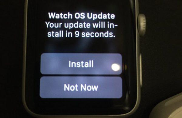 Как обновить операционную систему Apple Watch