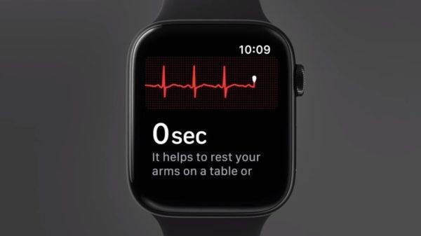 Датчик давления в Apple Watch Series 4