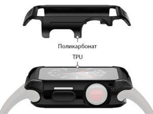 Чехол Spiegen для Apple Watch