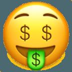 Значение смайлика Emoji «Деньги»