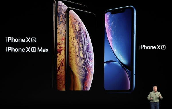Apple показала три новые модели iPhone: XS, XS Max, XR на презентации 12 сентября 2018 года