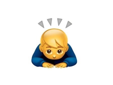 Значение смайлика Emoji «Ребенок спрятался»