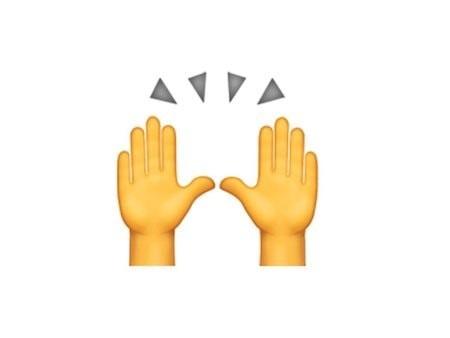 Значение смайлика Emoji «Руки»