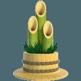 Значение смайлика Emoji «Дудочки и растение»
