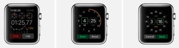 Будильник в Apple Watch
