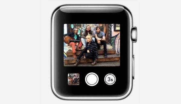 Фото с Apple Watch