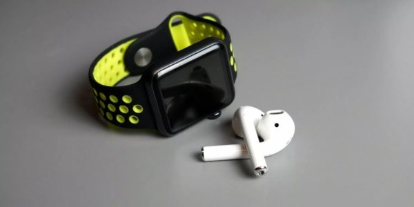 Подключение Apple Watch к AirPods