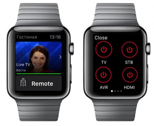 Apple Watch в качестве пульта ДУ