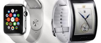 Сравнение Apple Watch и Android Wear