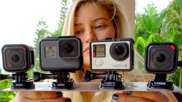 Виды камер GoPro