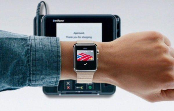 Оплата услуг через Apple Pay