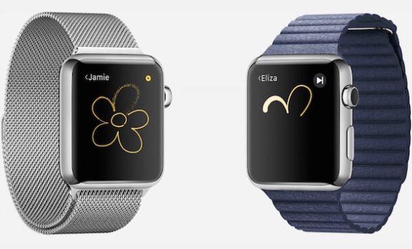 Отправка нарисованных картинок с Apple Watch
