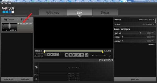 Добавленные аудиофайлы в папке «Мультимедиа»