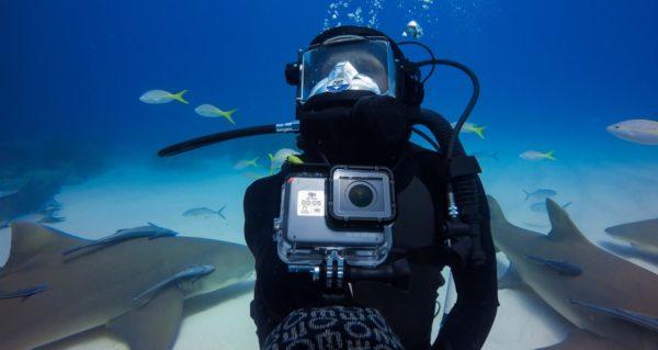 Съемка под водой на камеру GoPro