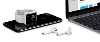 Подключение AirPods к iPhone, iPad, MacBook и iWatch