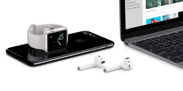 Подключение AirPods к iPhone, iPad, MacBook и iWatch