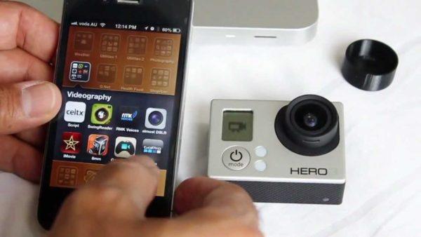 Сброс пароля Wi-Fi в GoPro