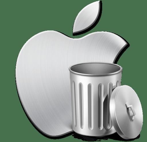 Удаление учетной записи Apple ID