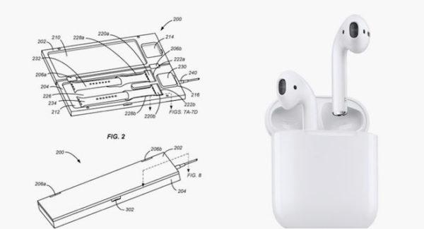 Патент Apple на зарядный футляр для iWatch