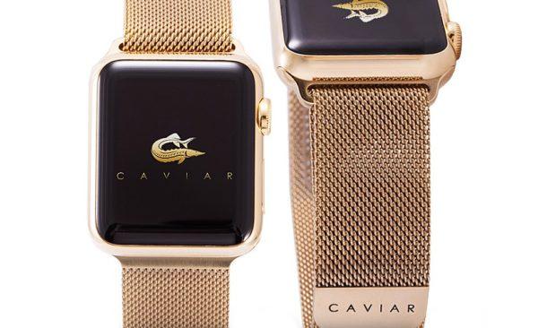 Отделка iWatch Caviar Edition
