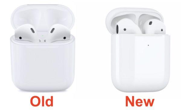 Отличия между Airpods 1 и 2
