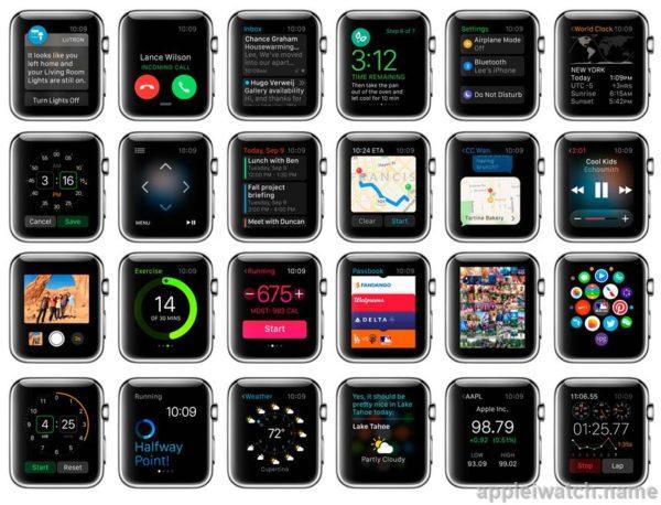 Приложения для iWatch