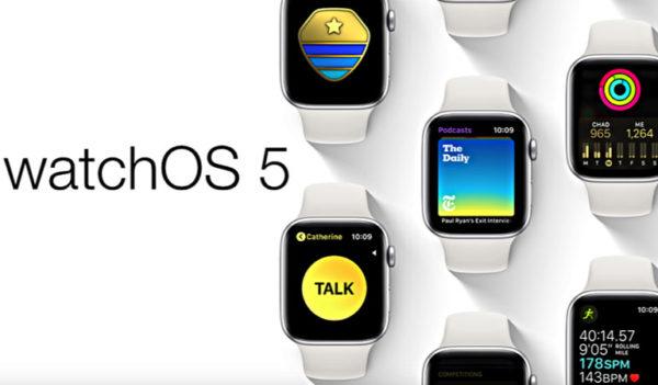 Приложения для WatchOS 5