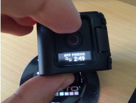 Переход GoPro Hero 4 Session в режим управления с телефона