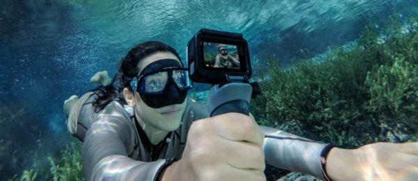 Съемка под водой на GoPro