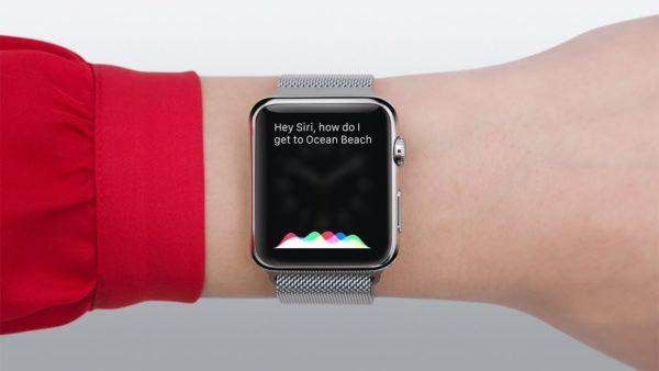 Siri в Apple Watch