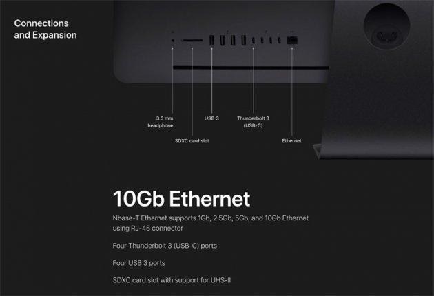 Технические характеристики Apple iMAC Pro