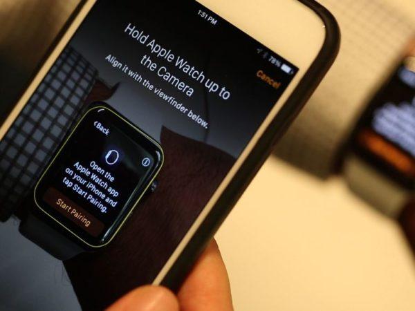 Управление программами iWatch через iPhone
