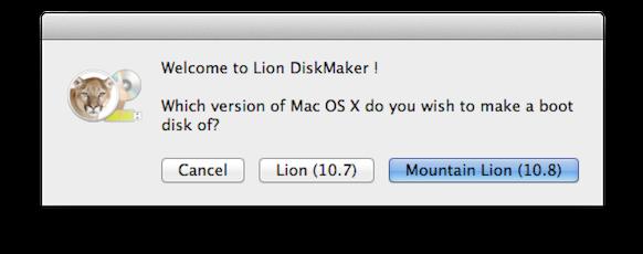 Установка MacOS с помощью Lion Diskmaker